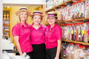 The Toffee Shop Staff